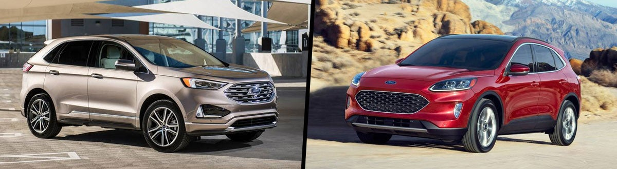 Ford Edge Vs Escape >> Compare 2020 Ford Edge Vs 2020 Ford Escape Wellington Oh